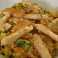 Klasična rižota s piščančjim filejem