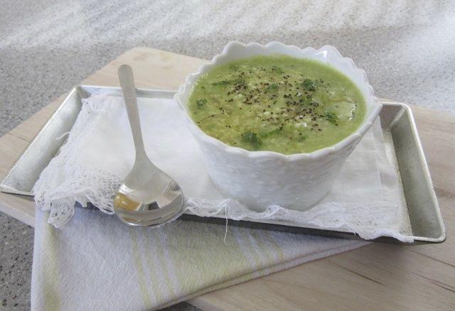 Zelena juha in proso