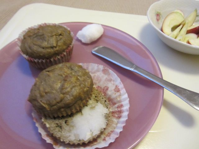 jabolčni muffini