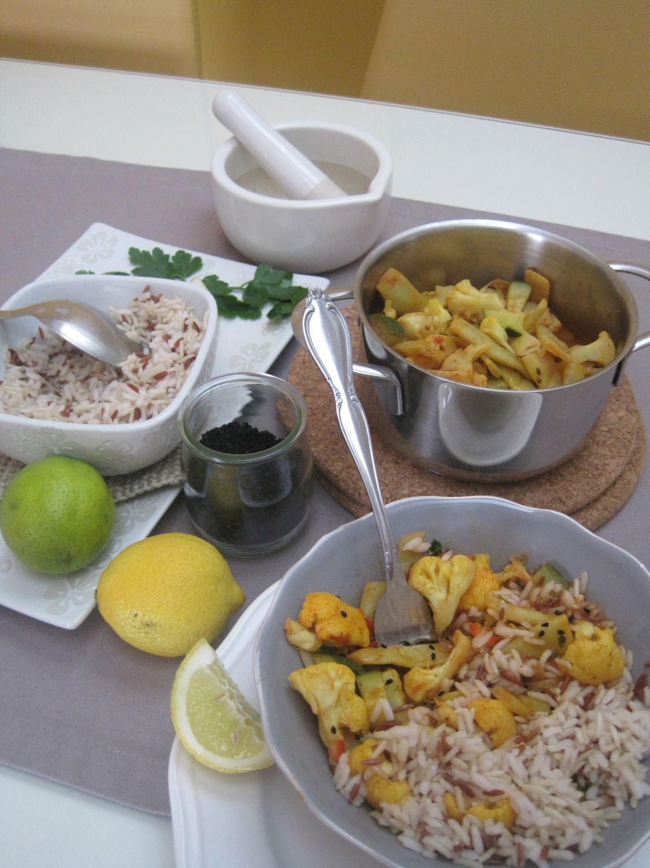 Zelenjavni curry