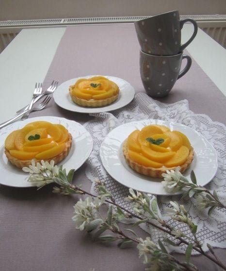 Pita mascarpone - breskev