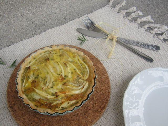 Koromačeva pita s kokosovim mlekom