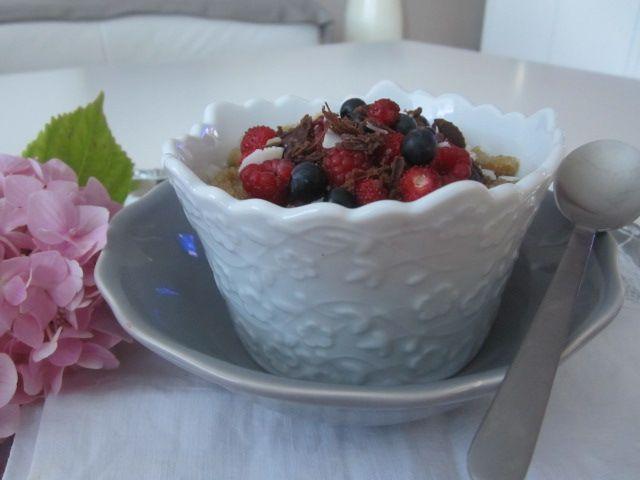 Amarant z jagodičevjem