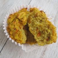 Pikantno sladki kokosovo - bučni kolački (brez glutena, brez žit, brez mlečnih izdelkov)