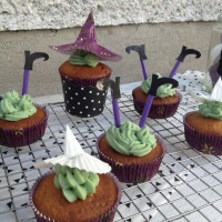 Čarovniški kapučino muffinčki