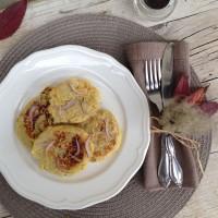Indijske palačinke (polpeti) iz sladkega krompirja