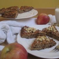 Enostaven in zdrav jabolčno cimetov kolač