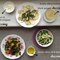 Tri okusne zimske solate (s sadjem)
