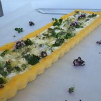 Brokolijeva pita s polentino skorjico