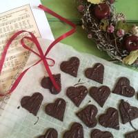 Čokoladno ajdovi srčki