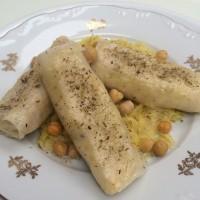 Veganski riževi zvitki s kislim zeljem in proseno kašo