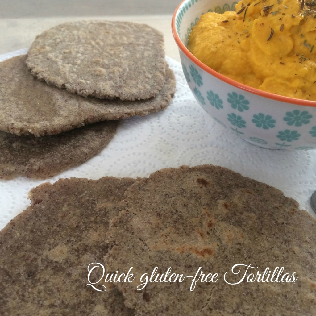 quick gluten free tortillasx