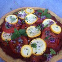 Pizza iz rdeče leče