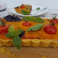 Pozno poletna slana pita s čičirikinim testom