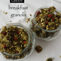 Zelena granola