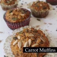 Korenčkovi muffini (sladki in veganski)