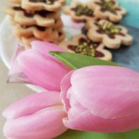 Preprosti brezglutenski vanilijevi piškoti