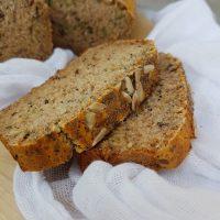 Hiter brezglutenski rižev kruh s semeni