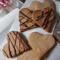 Kostanjevi medeni srčki (brez laktoze in glutena)