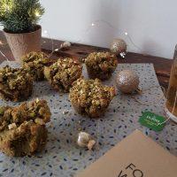Sladko slani matcha muffini