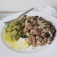 Brokolijev pesto z brazilskimi oreščki
