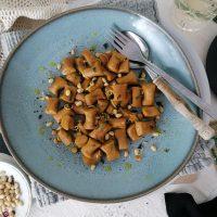 Brezglutenski veganski njoki iz sladkega krompirja